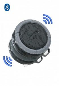 Caixinha de som a prova D'agua, com ventosa. *Bluetooth