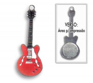 Chaveiro Guitarra Casino para Personalizar