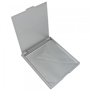 Espelho de bolso, material em plástico resistente
