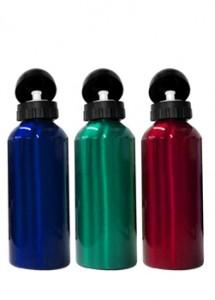 Squeeze de alumínio com tampa plástica de bico, capacidade para 400 ml. Embalagem, caixinha branca