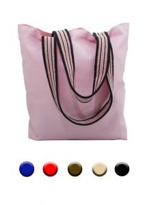 Bolsa de lona em diversas cores.