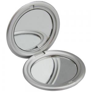 Espelho de bolso duplo  material em plástico resistente