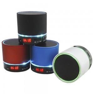 Caixinha de Som com Bluetooth recarregavél nas cores Branca  Preta