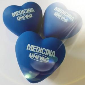 Coração Anti Stress, Massagem Azul Personalizado