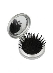 Escova com espelho, material de plástico
