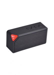 Caixa de som com bluetooth, bateria recarregável, entrada USB e micro SD