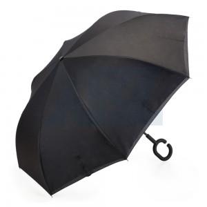 Guarda-chuva Invertido Preto