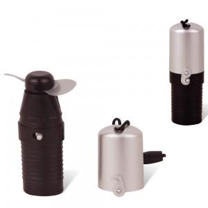 Mini ventilador de mão, material plástico resistente