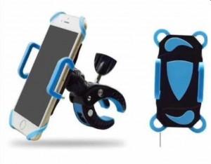 Lançamento Suporte Celular Gps Motocicleta Etc Bicicleta Com Rede