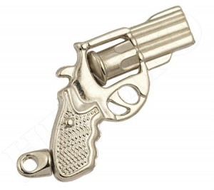 Chaveiro Revólver Arma