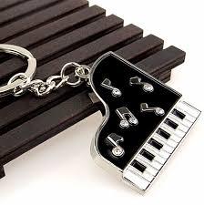 Chaveiro Piano Aluminio
