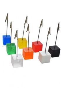 Porta recado jacaré em formato quadrado