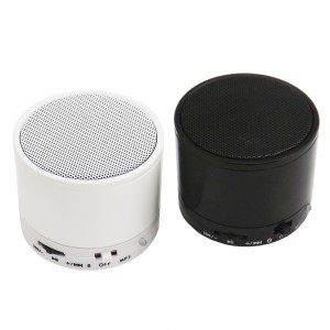 Caixinha de Som com Bluetooth recarregavél nas cores Branca ou Preta