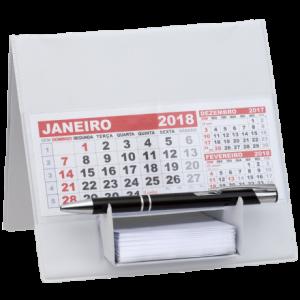 Calendários - Calendário de Mesa com Suporte p/ Rascunho